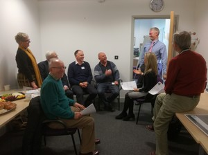 Church Leaders inspired at breakfast