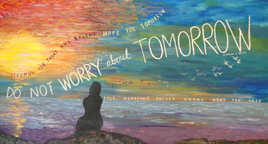 Do not worry christian artwork
